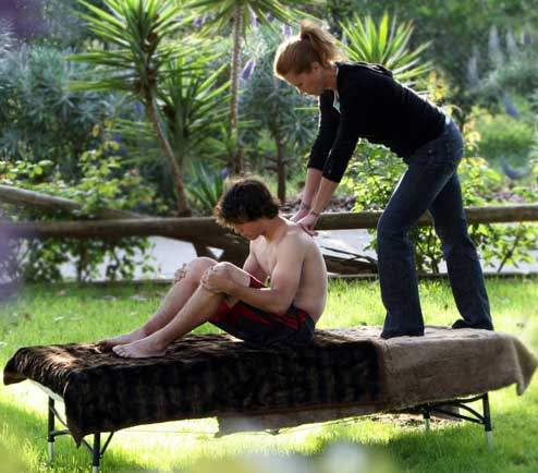 Laura massage al fresco
